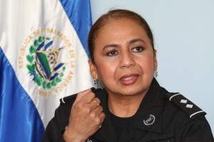 Sub-Commissioner Blanca Lidia Figueroa of the National Police, El Salvador. Photo by Claudia Barrientos/Oxfam America