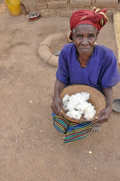 Madame Sidibe Traore. Photo by Chris Hufstader/Oxfam America